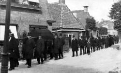 Begrafenis in Oosterbierum