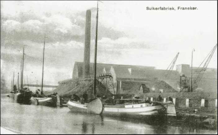 Suikerfabriek Frisia in Franeker
