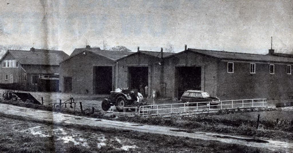 Overzicht van een gedeelte van de werktuighallen in Tzummarum