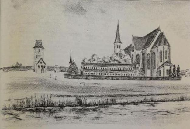 Recontructie-klooster-Lidlum