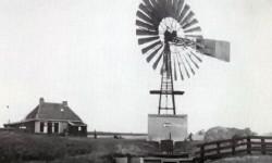 Amerikaanse windmotor in de Oosterbierumerpolder