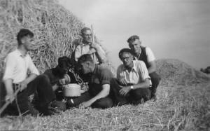 jaren 40-60 285 Rechts voor Gijsbert D. Boomsma