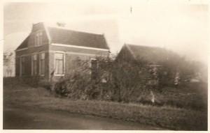 Het huis van Metje en Johannes aan de Oude Sédyk in Easterbierrum