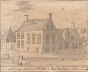 Hottinga of ook Aebenga State geheten anno 1722
