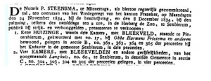 Leeuwarder Courant 21 november 1834