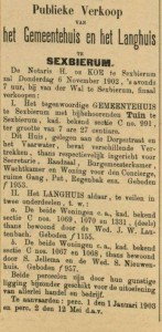 Leeuwarder Courant 27 oktober 1902