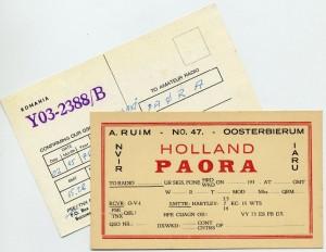 De roepnaam PAORA van dhr. Ruim uit Oosterbierum