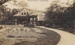 Het gemeentehuis van Barradeel medio 1910.