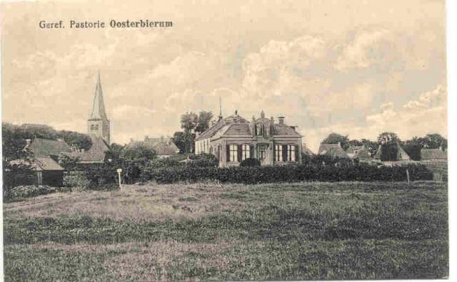 Oosterbierum - Pastorie Gereformeerde Kerk
