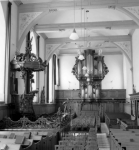 Interieur Ned. Herv. kerk 1952